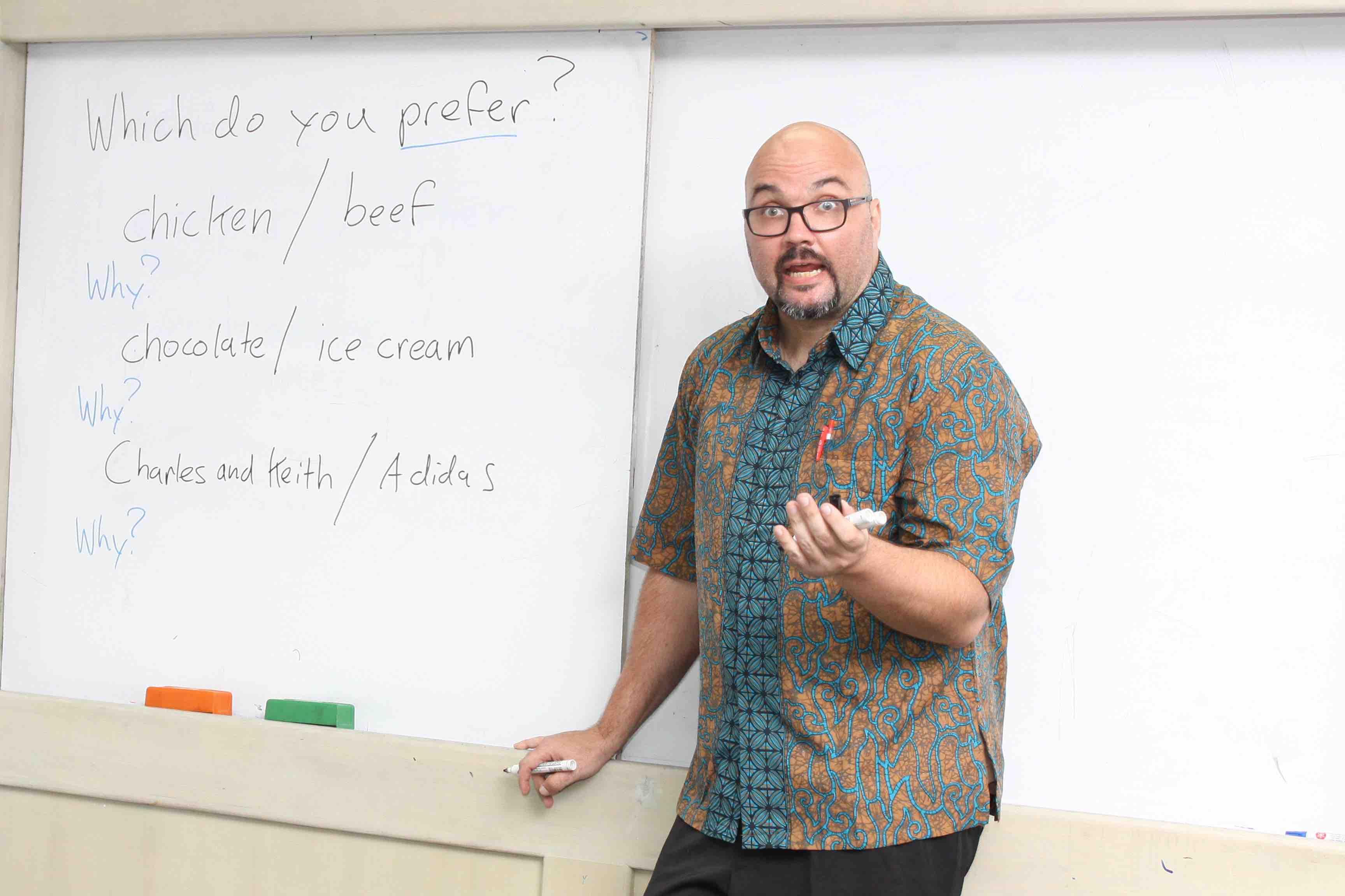 Tempat Les Bahasa Inggris di Medan